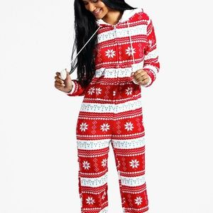 Brand new tacky christmas jumpsuit